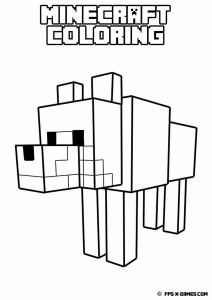 coloriage-minecraft-1 free to print
