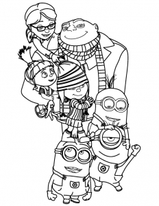despicable-me-2 free to print
