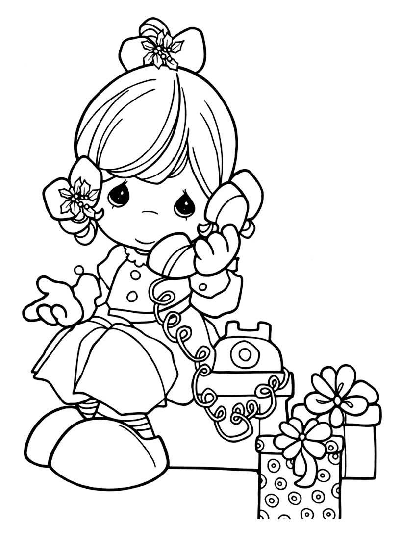 Coloriage Telephone.Moments Precieux 18 Coloriage Moments Precieux Coloriages Pour