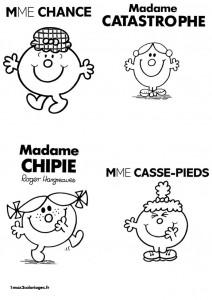 coloriage-monsieur-madame-2 free to print