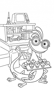 coloriage-monstres-academie-randall free to print