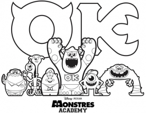 coloriage-monstres-academy-cartoon free to print