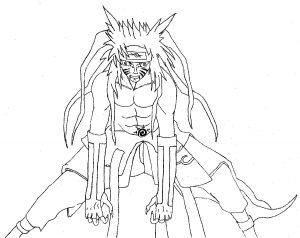 Naruto en colère