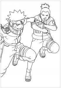 Shikamaru et Naruto