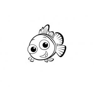 Coloriage de Le monde de Nemo à colorier pour enfants