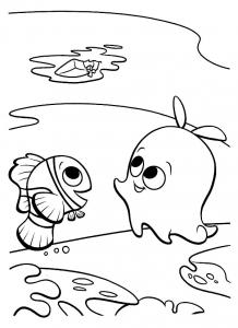Image de Le monde de Nemo à télécharger et colorier