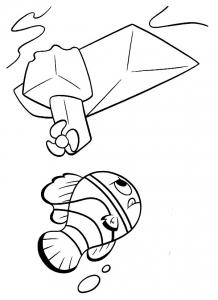 Image de Le monde de Nemo à imprimer et colorier