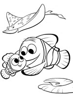 Coloriages le monde de nemo coloriages enfants biboon - Coloriage le monde de nemo ...