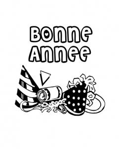 coloriage-nouvel-an-bonne-annee-3 free to print