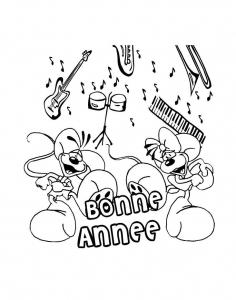 coloriage-nouvel-an-bonne-annee-6 free to print