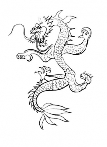 coloriage-nouvel-an-chinois-6 free to print