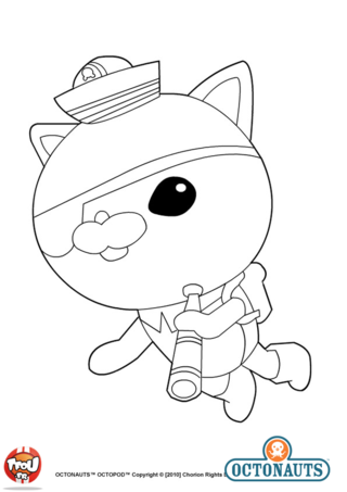 Octonautes 2 coloriage des octonautes coloriages pour enfants - Octonauts dessin anime ...
