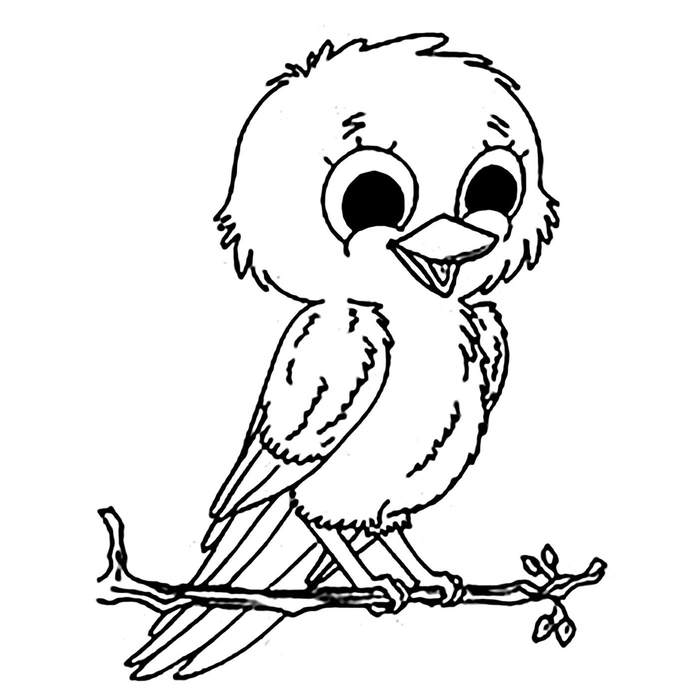 Petit Oiseau Coloriage D Oiseaux Coloriages Pour Enfants