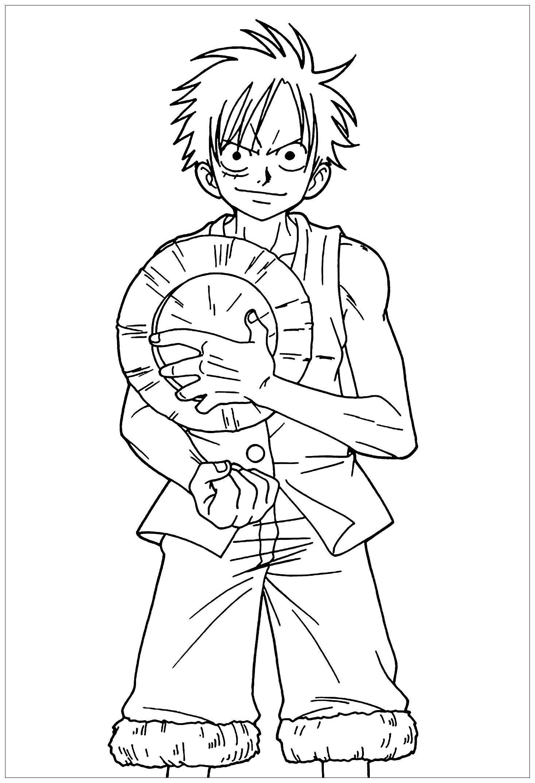 Coloriage De One Piece Pour Enfants Coloriage One Piece