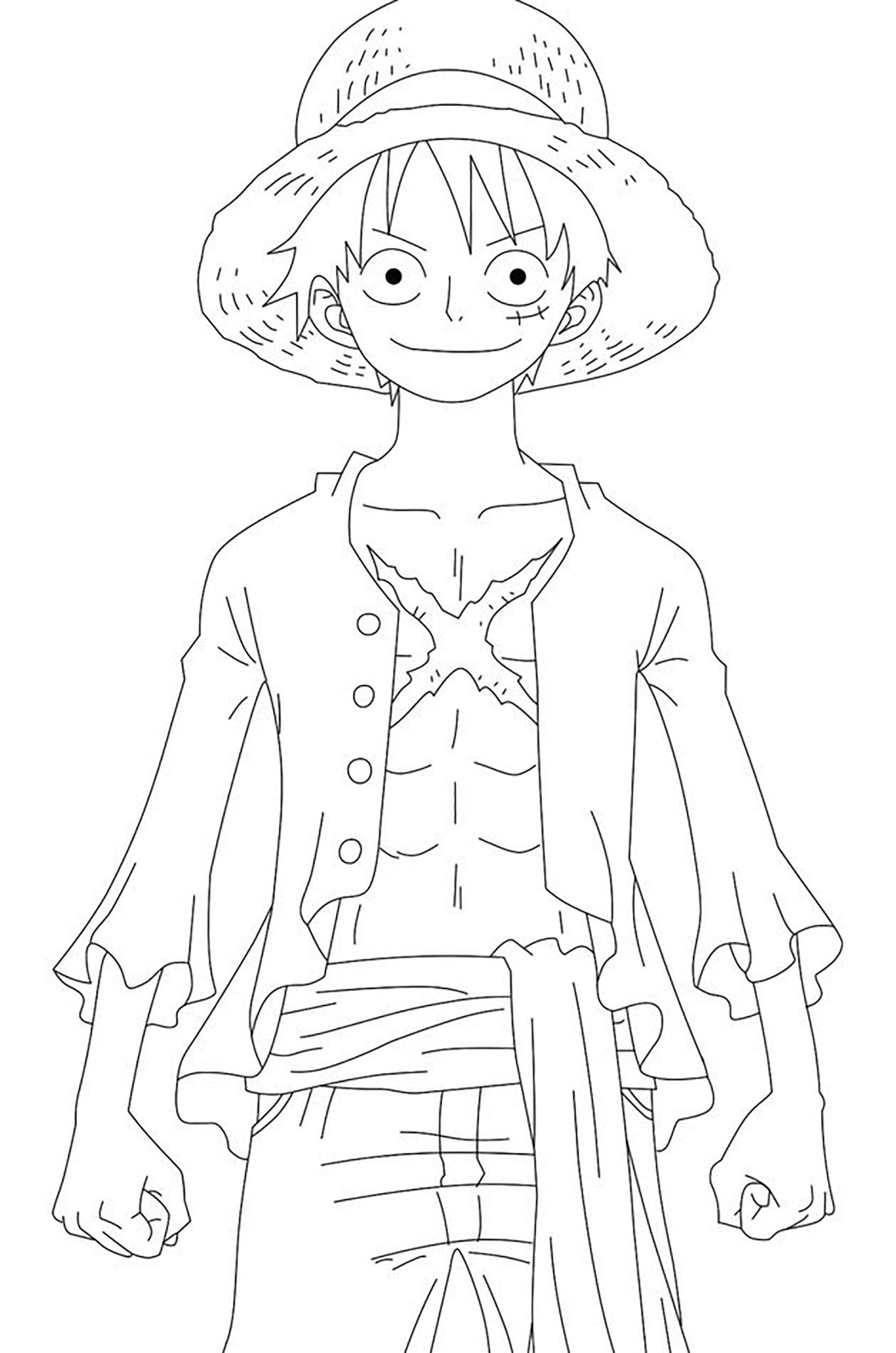 Image De One Piece A Imprimer Et Colorier Coloriage One Piece
