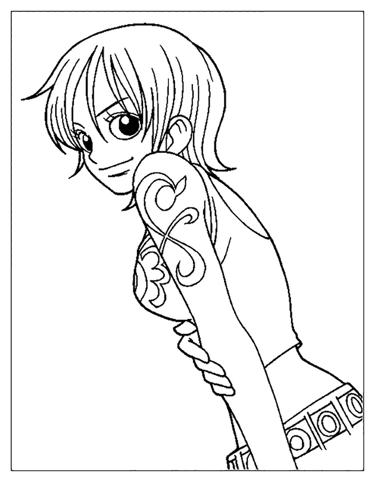 Coloriage De One Piece A Imprimer Coloriage One Piece