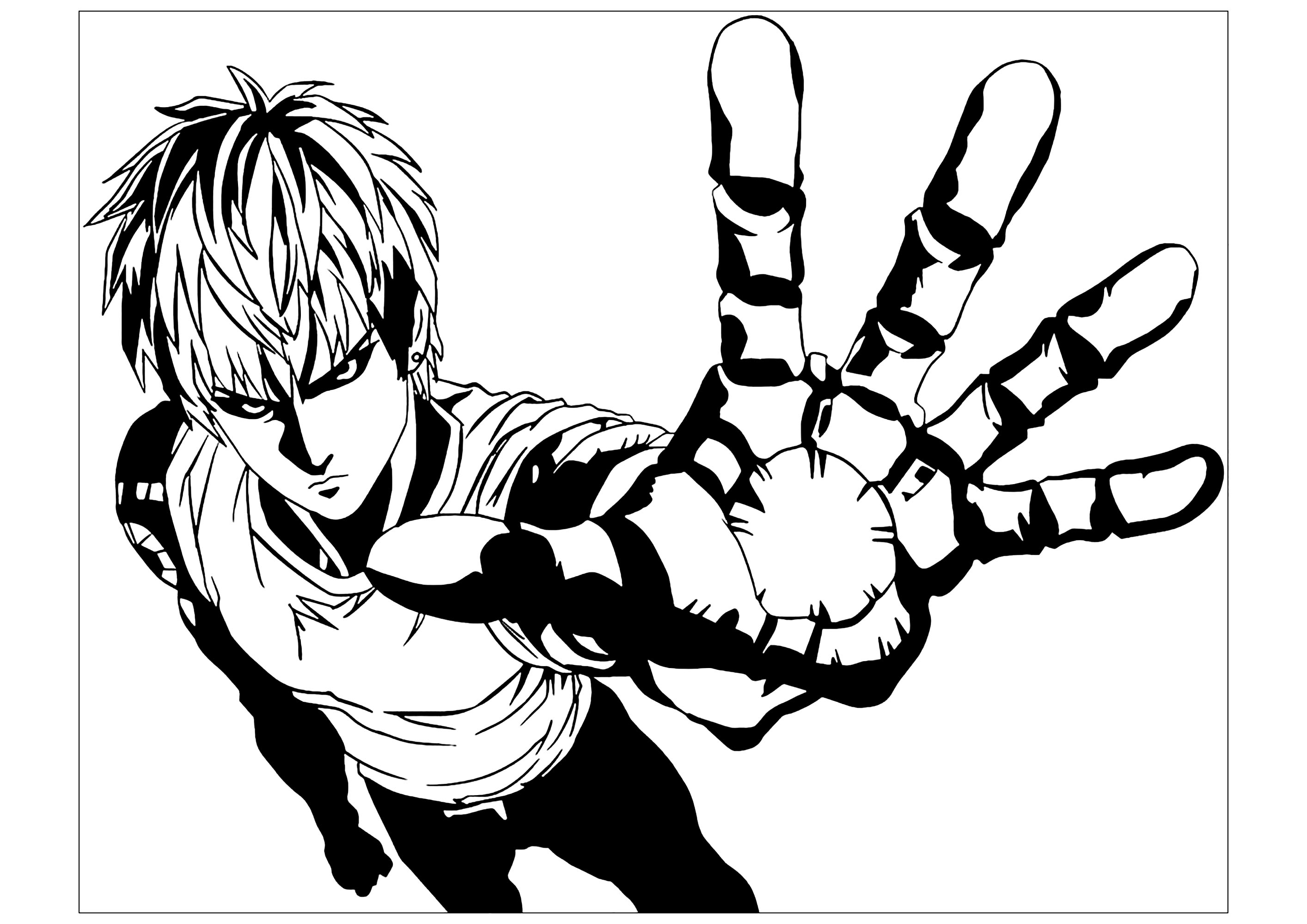 One punch 4