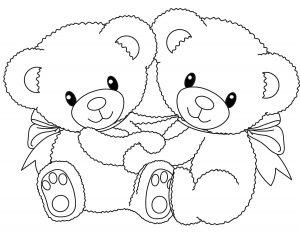 Deux petits oursons