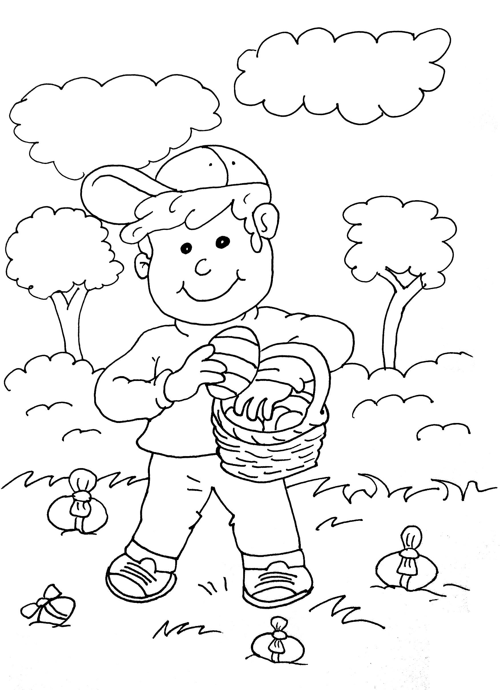 La fameuse chasse aux oeufs de Pâques, tradition adorée des enfants !