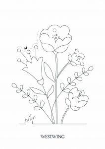 Image de Pâques à télécharger et colorier