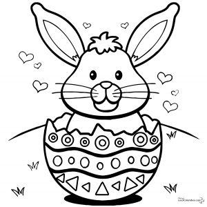 coloriage-paques-2 free to print