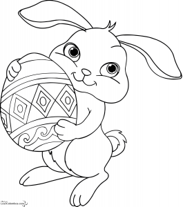 coloriage-paques-3 free to print