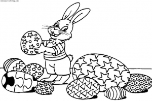 coloriage-paques-4 free to print