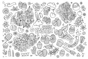 Dessins de Pâques