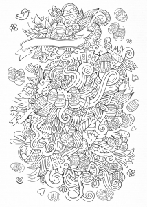 Doodle de Pâques