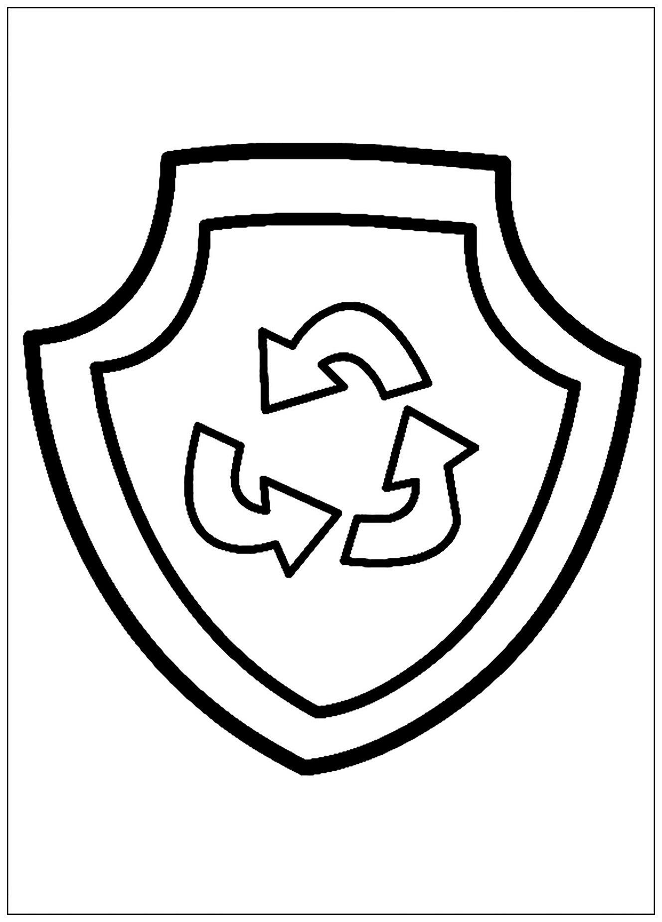 La kings logo coloring coloring pages - Coloriage pat patrouille ...