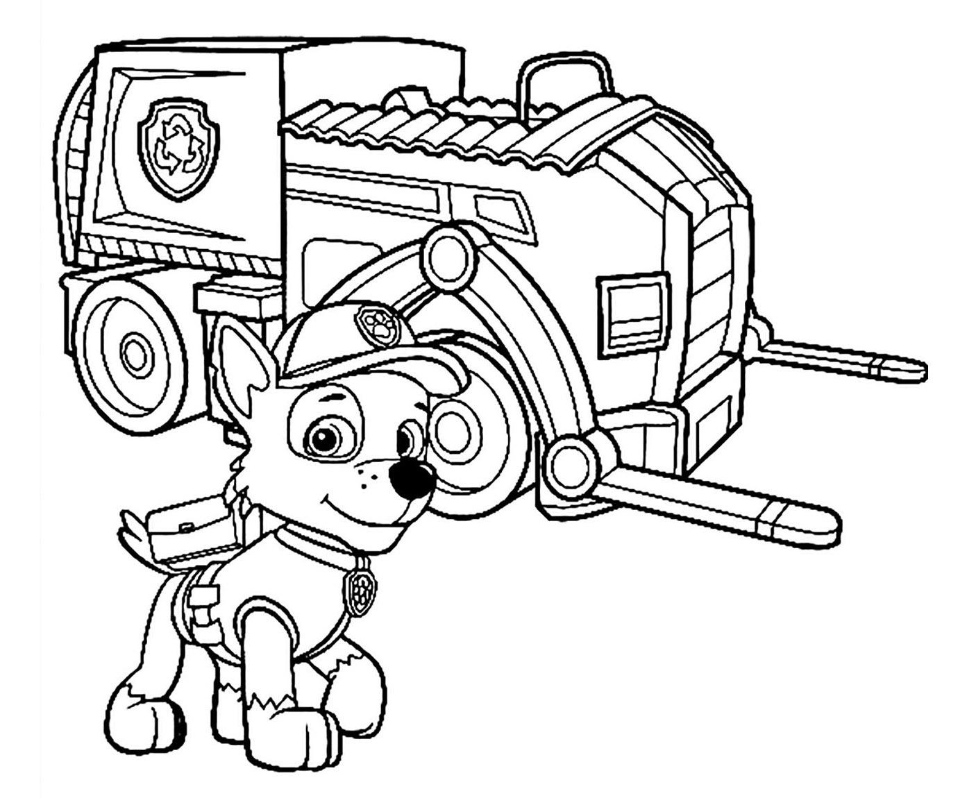 Pat patrouille super engin 2 coloriage pat patrouille coloriages pour enfants - Coloriage pat patrouille ...