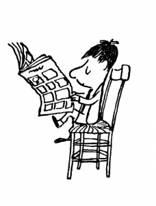Image de Le Petit Nicolas à télécharger et colorier