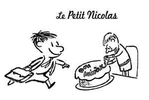 Coloriage de Le Petit Nicolas à imprimer gratuitement