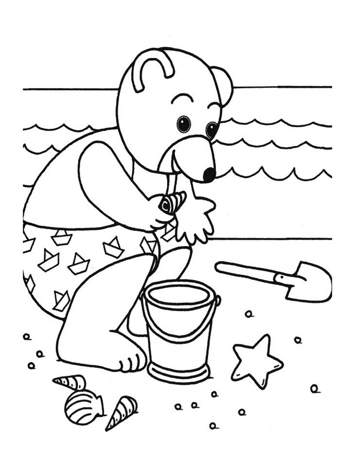Petit ours cherche des jouets
