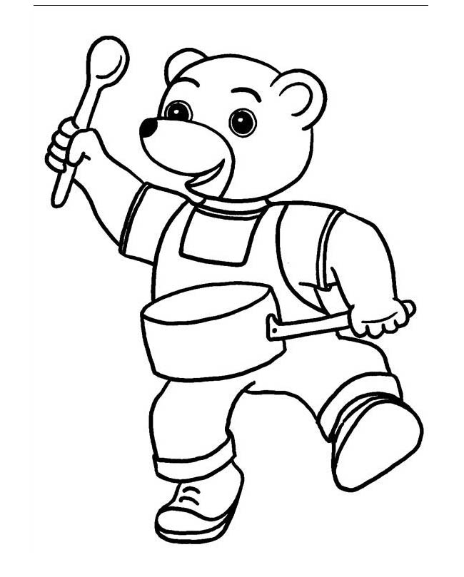 Petit ours brun 10 coloriage petit ours brun - Coloriage de ours ...