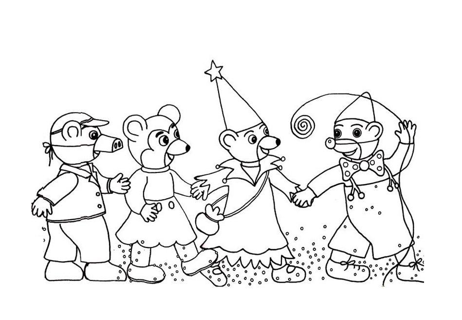Petit ours brun 4 coloriage petit ours brun coloriages - Coloriage de ours ...