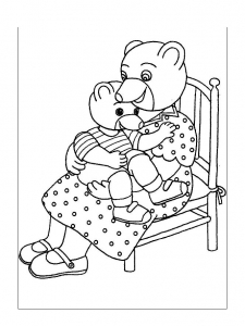 coloriage-petit-ours-brun-12 free to print