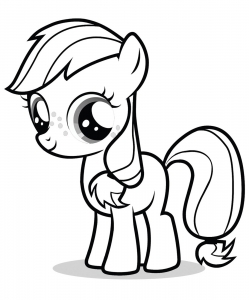 coloriage-my-little-pony-2 free to print