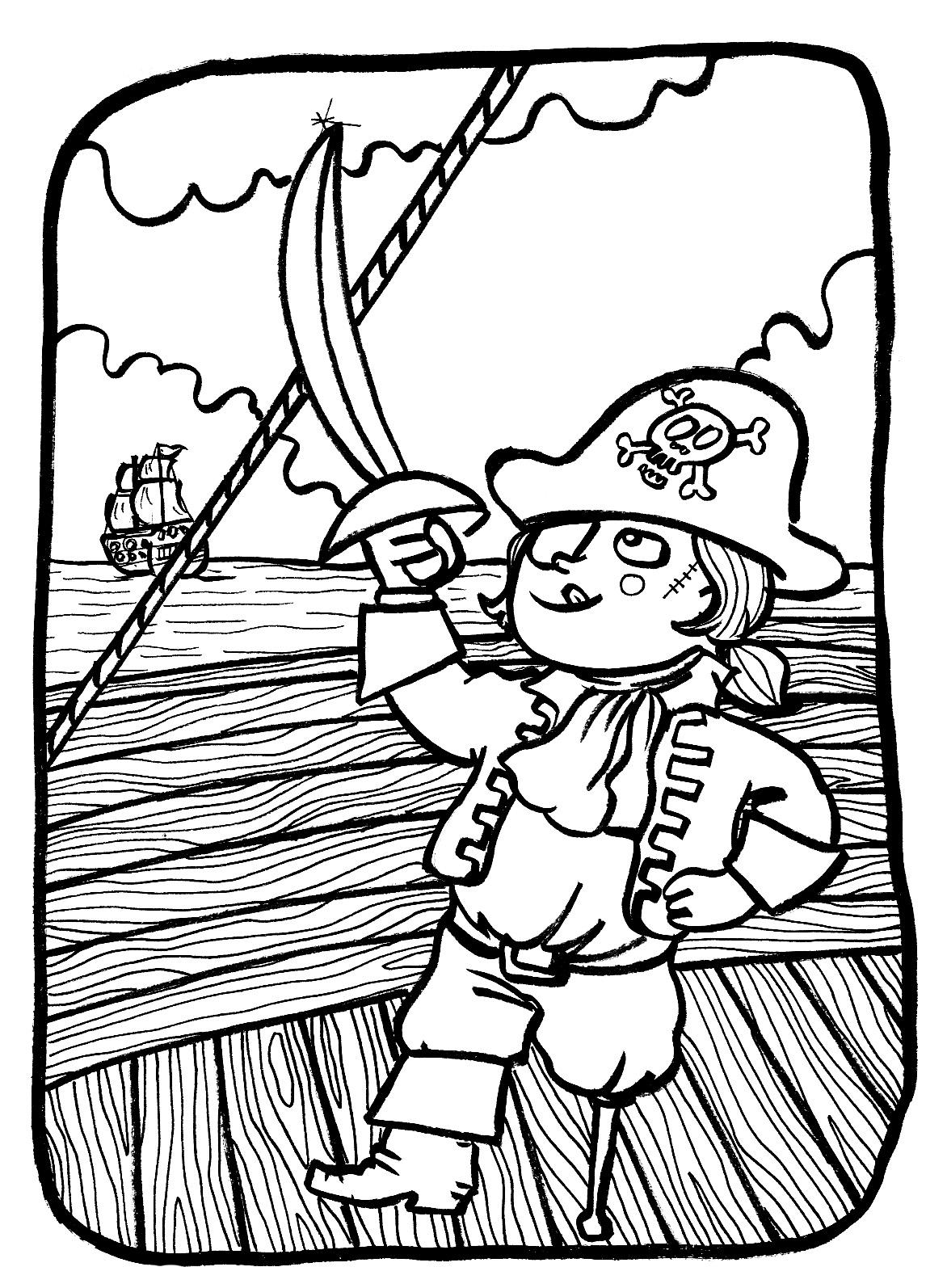 Un superbe bateau pirate !