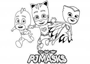 Les 3 héros (Catboy, Owlette et Gekko)