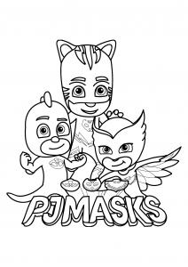 PJ Masks : fiers et forts