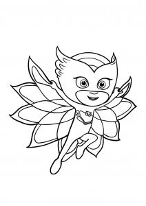 Un des 3 personnages de la série PJ Masks