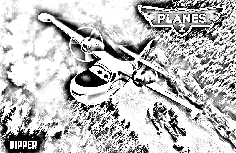 Planes 2 4 coloriage planes 2 coloriages pour enfants - Planes coloriage ...