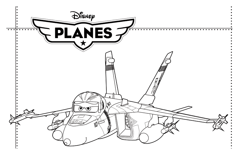 Avion de chasse !
