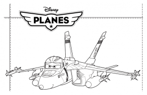 coloriage planes disney 3