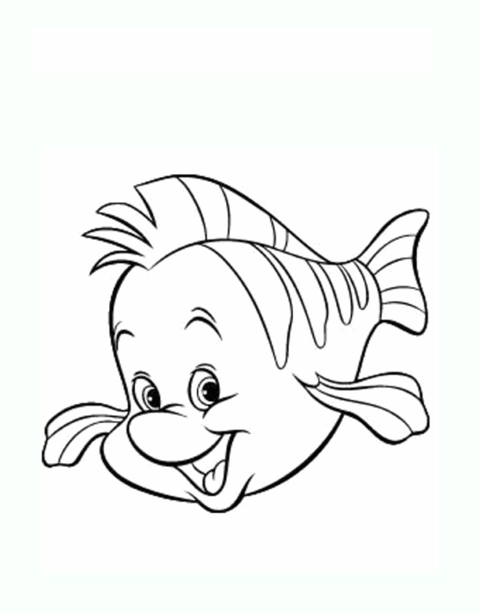 Poisson 1 coloriage de poissons coloriages pour enfants - Dessin poisson ...