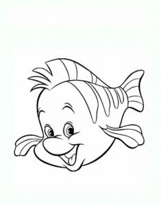 Coloriage poisson 1