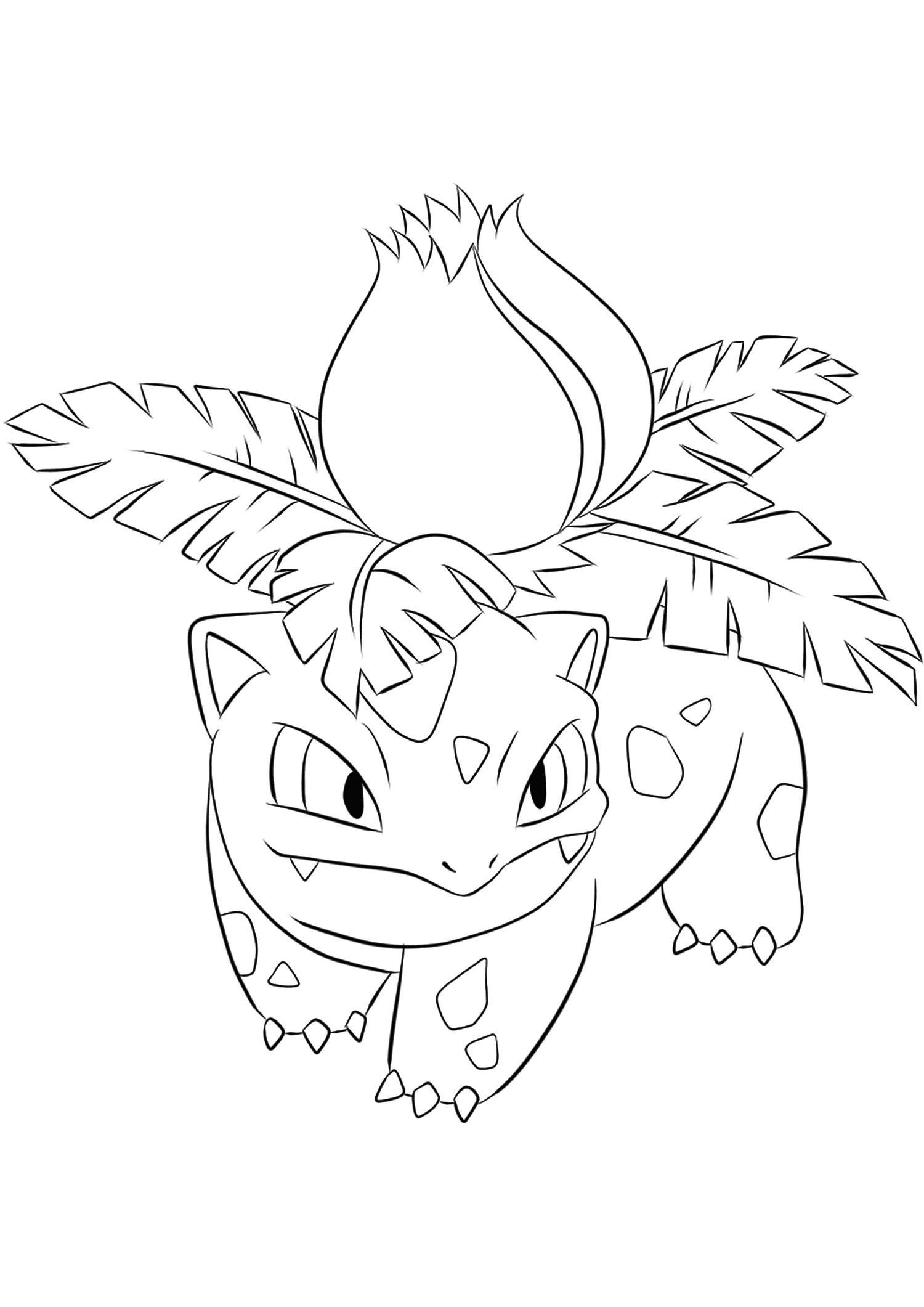 <b>Herbizarre</b> (No.02) : Pokémon de génération I