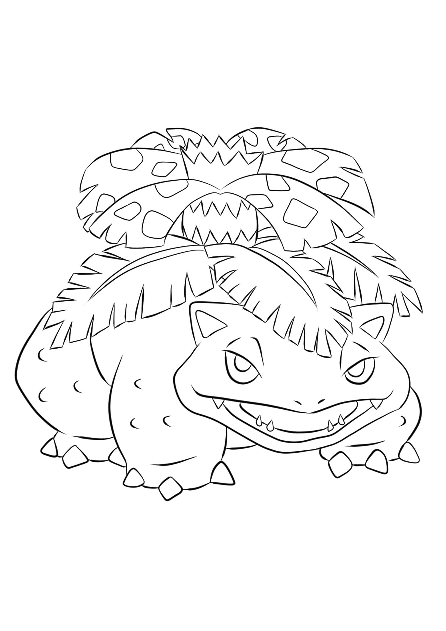 <b>Florizarre</b> (No.03) : Pokémon de génération I