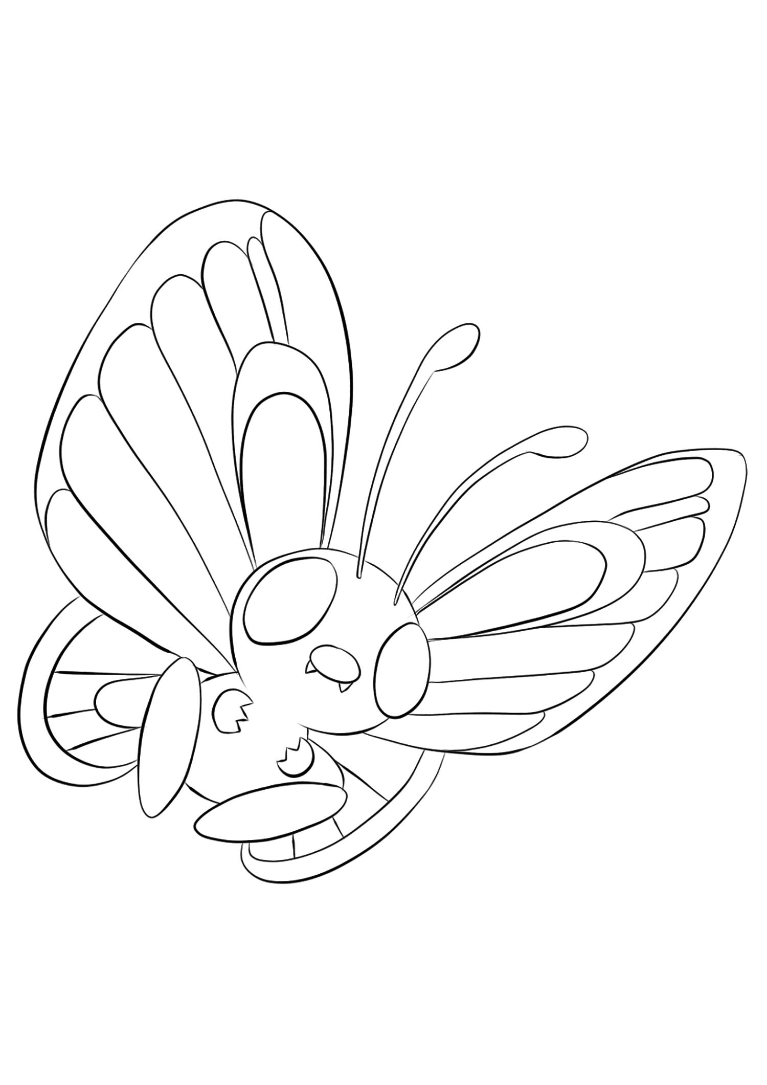 <b>Papilusion</b> (No.12) : Pokémon de génération I